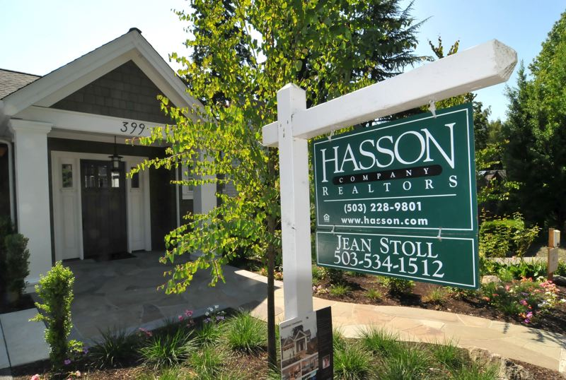 by: VERN UYETAKE - Local real estate agents say homes in Lake Oswego's Old Town neighborhood, like this one on Furnace Street, have been spending fewer days on market in the last 60 to 90 days.