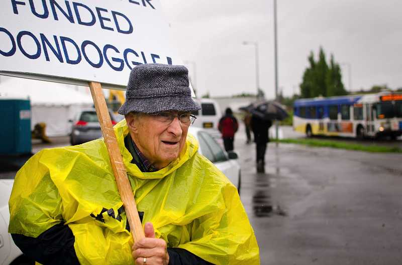 by: PAMPLIN MEDIA GROUP FILE PHOTO - Tigard's Art Crino had hoped to put a ballot initiative before voters in November to decide whether or not to allow MAX light rail to come to Tigard. The initiative failed to get enough signatures to make the November election.