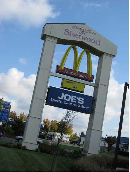 by: FILE PHOTO - Police closed the Sherwood McDonald's Thursday morning after a man reported he had been stabbed. The restaurant opened several hours later.