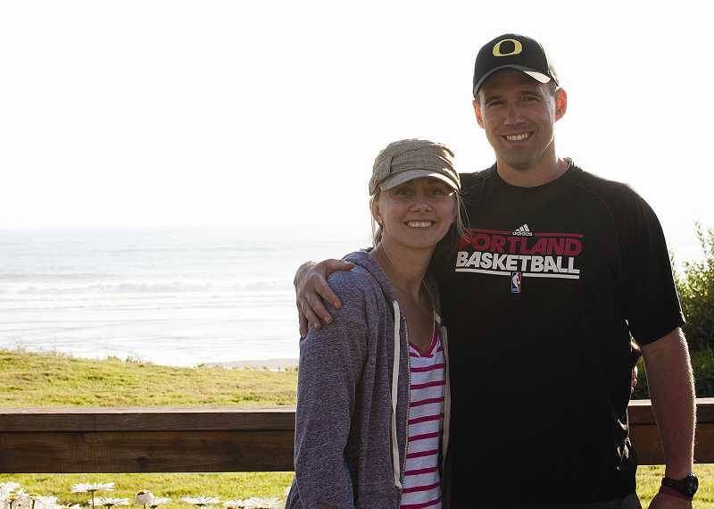 by: SUBMITTED PHOTO - Dawnelle and Jason Breum of Tualatin have taken in foster children since 2007. Last April, they finalized adoption proceedings for four siblings in foster care.