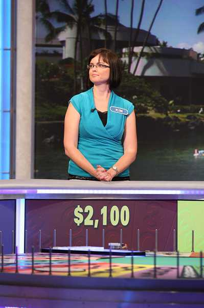 COURTESY OF CAROL KAELSON - Sherwood's Kim Crown will appear on this Thursday's 'Wheel of Fortune.' Although she can't reveal what she won, she says, 'I tell people I did really well and it's well worth watching.'