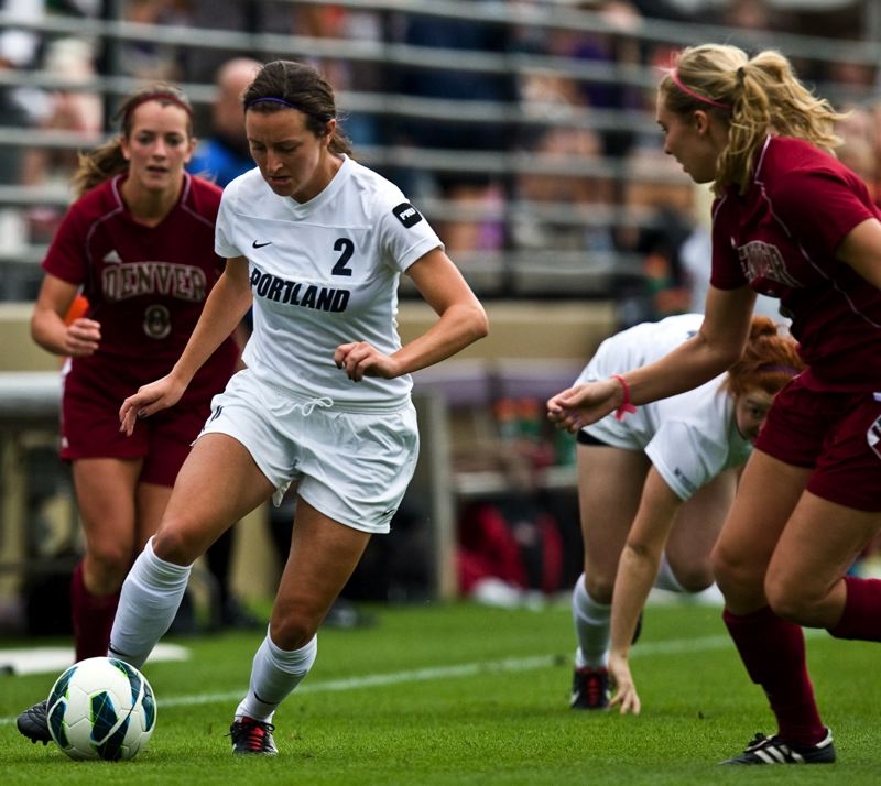 by: COURTESY OF UNIVERSITY OF PORTLAND - Kaila Cameli has eight goals on 37 shots for the University of Portland.