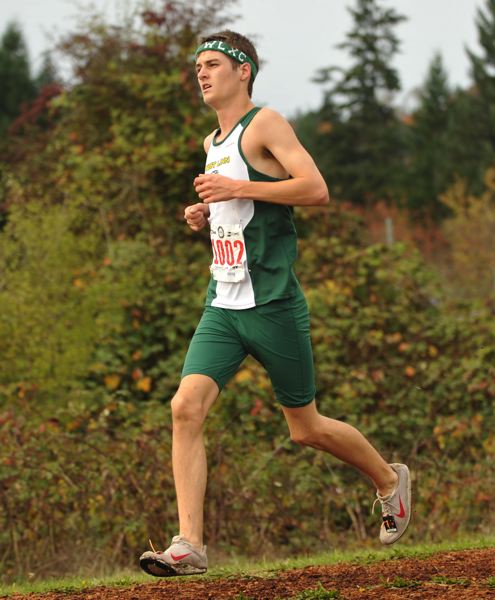 by: ZACH PALMER - West Linn's Connor Cushman wrapped up his high school career at the state meet in Eugene last week. The West Linn boys finished eighth as a team.