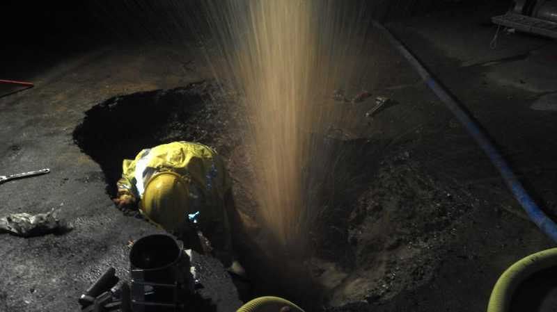by: SUBMITTED - Water main breaks occur nearly monthly in West Linn, adding up to $26,000 in repairs so far this year.