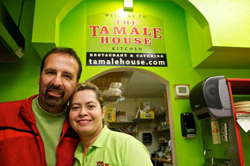 by: JAIME VALDEZ - Tony and Magdalena opened Tamale House in 2010.