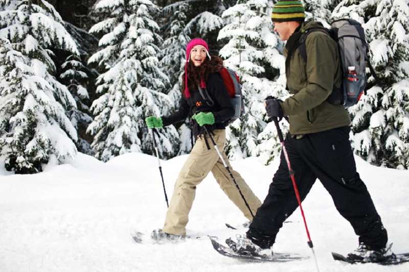 by: SUBMITTED PHOTO - Go snowshoeing on Mt. Hood Dec. 8 from 9 a.m. to 5 p.m. with Lake Oswego Parks and Recreation.