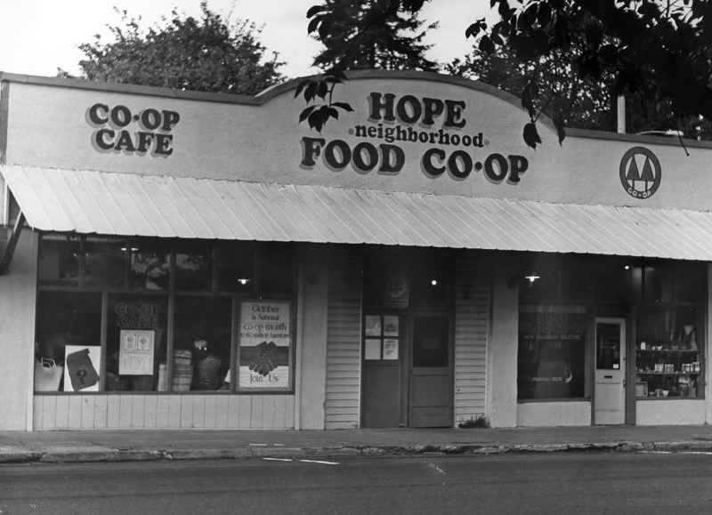 by: COURTESY PHOTO - The Hope Neighborhood Food Co-op sat on 21st Avenue between the current Maggie´s Buns and Pacific University for nearly a decade.