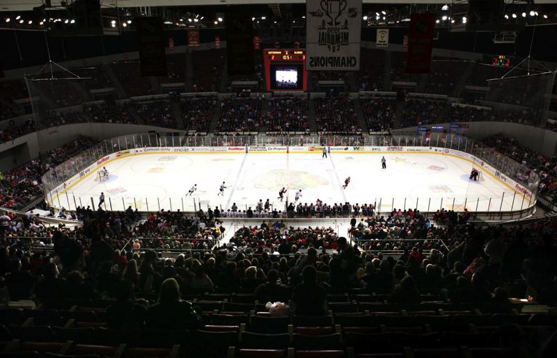 by: FILE PHOTO: PORTLAND TRIBUNE - The Portland Winterhawks will be a major player in redevelopment of Veterans Memorial Coliseum. The hockey organization is putting $10 million into the $31 million project.