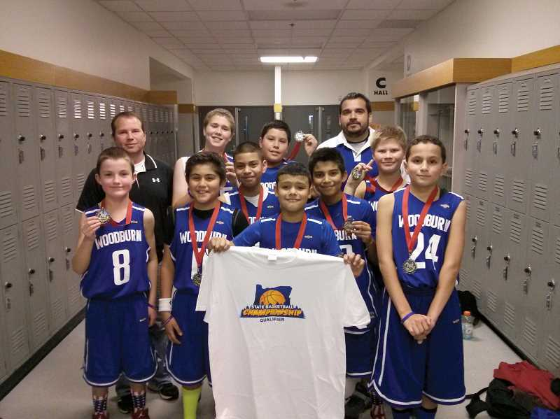 by: COURTESY OF JP BUSTAMANTE - The Woodburn Junior Bulldogs qualified for the state tournament with a second place finish at the Clackamas Fall Classic on Dec. 7-8.