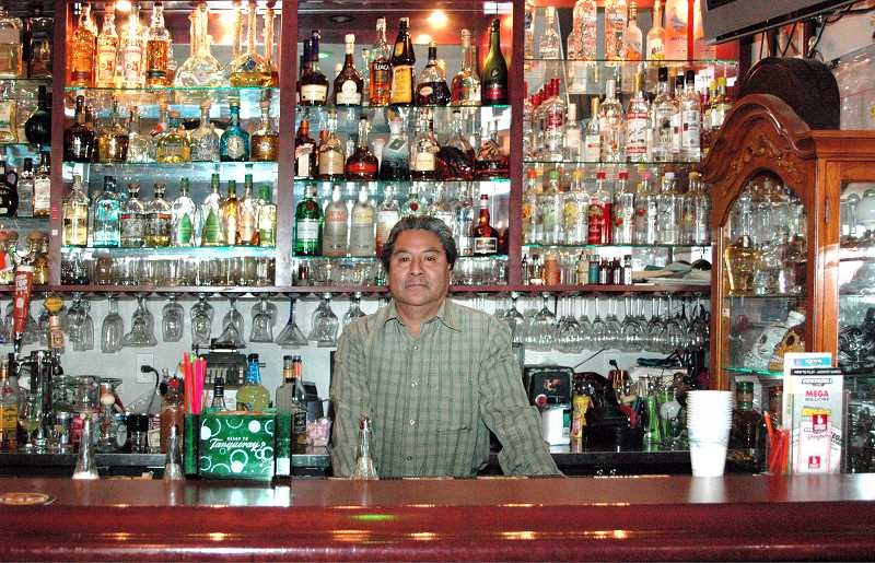 by: ISABEL GAUTSCHI - Cornelio Mendoza and his wife, Carmen, have been running Sabor Latino in Estacada for nearly a decade.