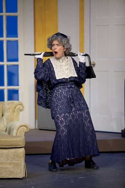 Joan Freed as Hold Me-Touch Me in The Producers.