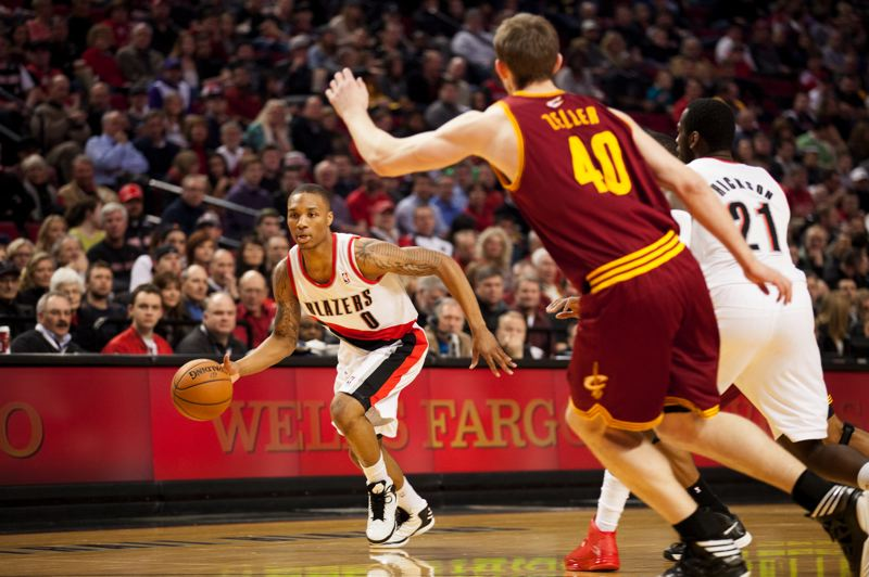 by: TRIBUNE FILE PHOTO: MEG WILLIAMS - Damian Lillard, Trail Blazers guard, is set to participate in a record-five events during the NBA All-Star Weekend Feb. 14-16 at New Orleans.