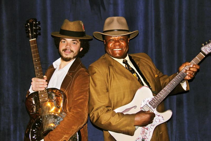 by: COURTESY OF GREG JOHNSON - Tevis Hodge Jr. (left) and Norman Sylvester are part of the Inner City Blues Festivals Healing the Healthcare Blues, April 5 at Melody Ballroom.