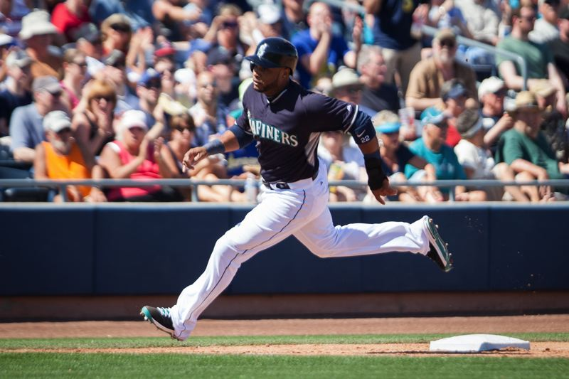 by: COURTESY OF MEG WILLIAMS - Robinson Cano takes over at second base this season for the Seattle Mariners.