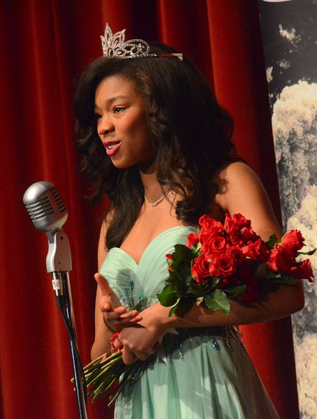 by: CONNECTION PHOTO: VERN UYETAKE - Deja Brooks, Wilson's new Rose Festival princess.