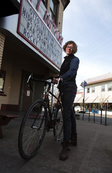 by: TRIBUNE PHOTO: JONATHAN HOUSE - Filmed by Bike founder Ayleen Crotty launched the iconic  event in Portland 12 years ago. The four-day festival kicks off April 19 at the Clinton Street Theater.