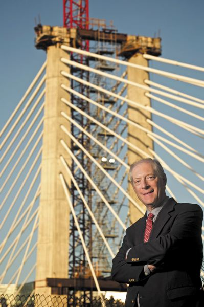 by: TRIBUNE PHOTO: JAIME VALDEZ - Chet Orloff, an adjunct professor of urban studies and planning at Portland State University, says the committee was unanimous in its name selection for the new Willamette River transit bridge. Orloff is also a 22-year member of the Oregon Geographic Names Board and director emeritus of the Oregon Historical Society.