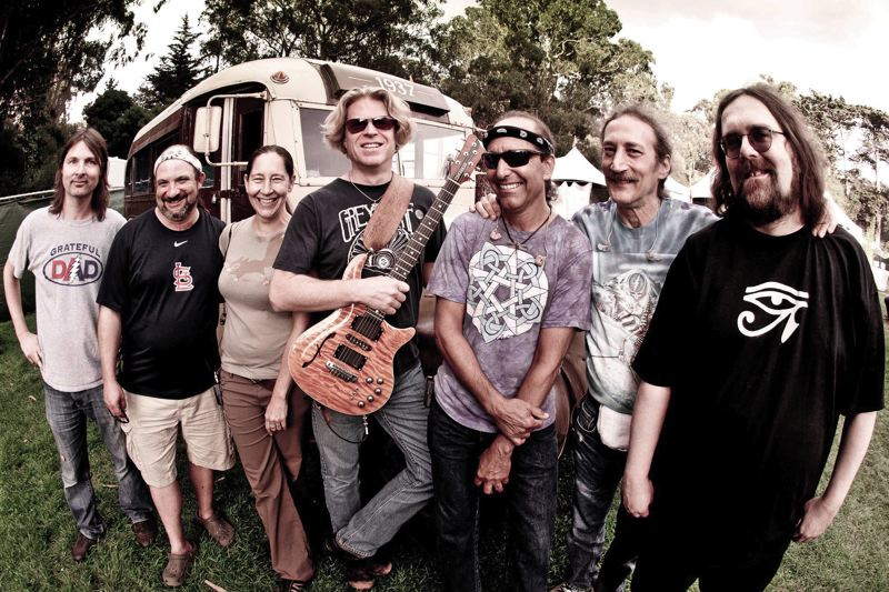 by: COURTESY OF DARK STAR ORCHESTRA - Grateful Dead tribute band Dark Star Orchestra, which plays the Crystal Ballroom on April 18, is always a favorite in Portland.