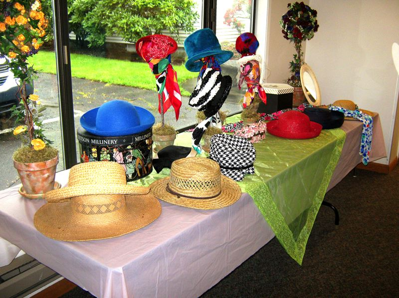by: CONTRIBUTED PHOTO: JEFF MUCEUS - Hats are encouraged at the annual Smith Memorial Presbyterian Church's spring salad luncheon. A baked goods, crafts and plants sale will feature a variety of homemade items.