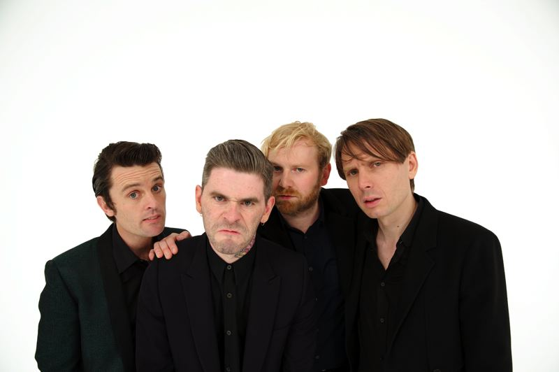 by: COURTESY OF FRANZ FERDINAND - Indie dance rockers Franz Ferdinand have been influenced by Devo, Oingo Boingo and Talking Heads. They play Roseland Theater, April 26.