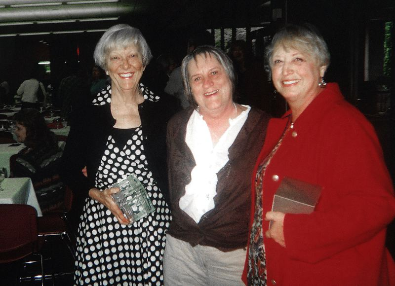 by: CONTRIBUTED PHOTO - Diane Allen, left, with fellow instructors, Sue Byers, middle, and Donna Ball.