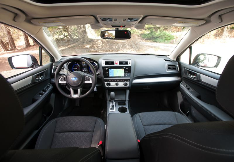 by: JOHN M. VINCENT - Not only does the 2015 Subaru Legacy sport an interior with higher style and quality of materials, it has plenty of power and connectivity ports for multiple mobile devices.