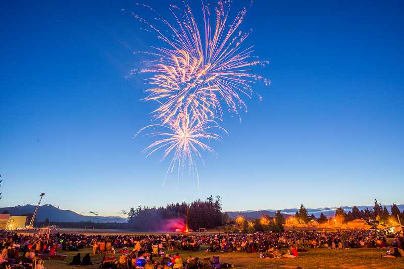 by: NEWS-TIMES FILE PHOTO - The Forest Grove Firefighters Association will put on a fireworks show sure to be a blast.