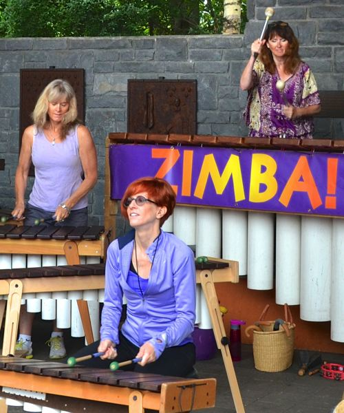 by: CONTRIBUTED PHOTO - Zimba Marimba plays high-energy dance music and will share their tunes with the crowd at the Gresham Arts Festival on July 19.