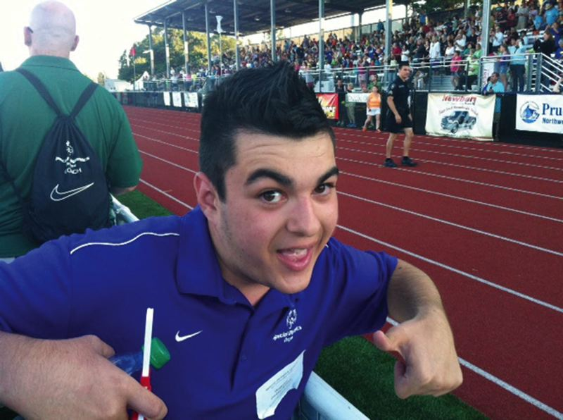 by: COURTESY OF GREG ASSAD - Dominic Flesey-Assad, a 16-year-old Grant High student, has overcome serious pre-birth head injuries to become an active participant in Special Olympics Oregon. Hell compete with others this weekend in the State Summer Games at Newberg High.