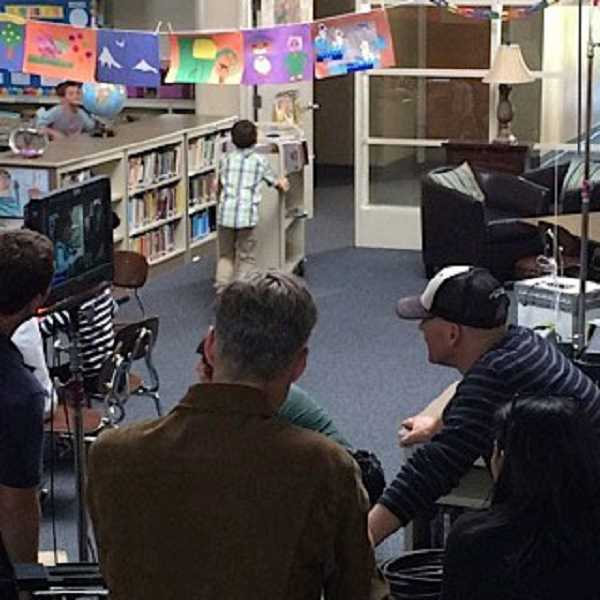 by: SUBMITTED PHOTO - Jerry Brown uses his filmmaking skills to volunteer at Hallinan.