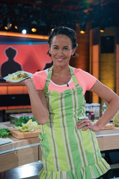 by: COURTESY OF NBC - Elisha Joyce of Lake Oswego is competing in NBCs new high-stakes culinary game, Food Fighters. The eight-episode show premieres 8 p.m. Tuesday on KGW (8)