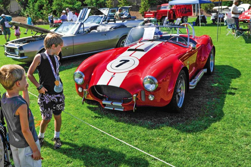 by: TIMES PHOTO: JOHN LARIVIERE - This 1965 Cobra owned by Scott Hess of Aloha won the 'Stormin' Norman's Favorite Pick' award during the 2013 Classic at T-Hills.