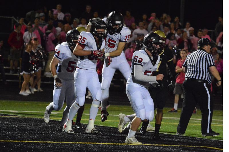 by: TIMES PHOTO: MATT SINGLEDECKER - Westview tight end 6-foot-5 Teagan Lind gave quarterback Austin Brisbee Wildcats a tall target in the passing game last season. Lind was all-Metro both as a sophomore and a junior.