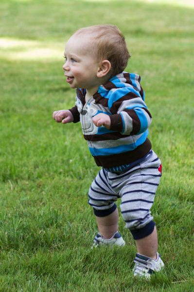 Photo Credit: TIMES PHOTO: LACEY JACOBY - Ronan OGlasser, 1, participates in the Kids Dash.