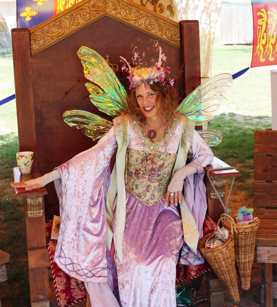 Photo Credit: HILLSBORO TRIBUNE PHOTO: DOUG BURKHARDT - Wandering fairies are among the unique attractions to be discovered at the Oregon Renaissance Festival, which returns to the Washington County Fairgrounds for six weeks starting Aug. 16.