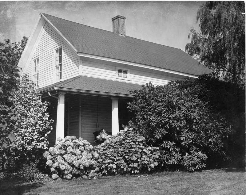 Photo Credit: REVIEW FILE PHOTO - The two-story home at 3811 Carman Drive was built in 1857 by pioneer couple Waters and Lucretia Carman.