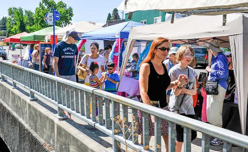 Photo Credit: TIMES PHOTO: JOHN LARIVIERE - The Explore Downtown Tigard Street Fair returns to Main Street this Saturday.