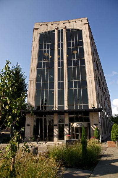 Photo Credit: TIMES PHOTO: JAIME VALDEZ - The Beaverton Building at The Round at Beaverton Central is the new home of City Hall.