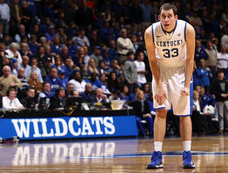 Photo Credit: COURTESY PHOTO: UK ATHLETICS/CHET WHITE - Former Jesuit Crusader Kyle Wiltjer made an impact at the University of Kentucky with his three-point shooting ability, making 35 triples as a freshman.