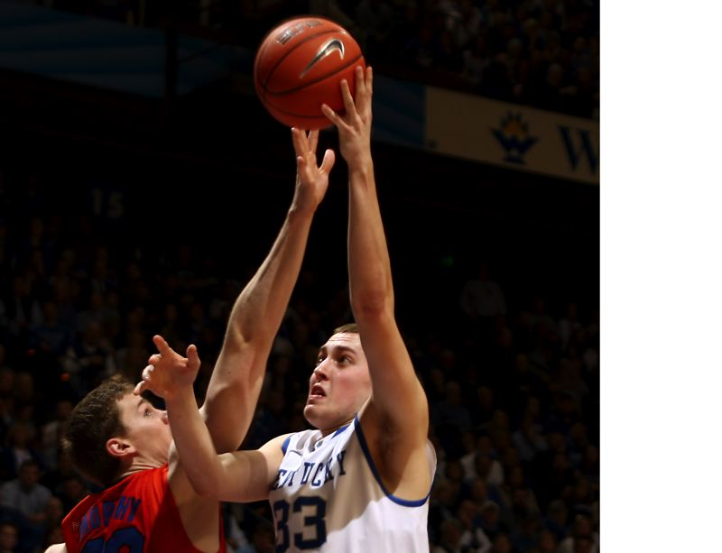 Photo Credit: COURTESY PHOTO: UK ATHLETICS/CHET WHITE - Former Kentucky Wildcat and current Gonzaga Bulldog Kyle Wiltjer figures to play a large role for the Bulldogs this season after sitting out a year following a redshirt season in Spokane.