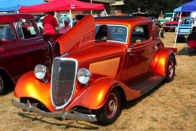 Photo Credit: CONTRIBUTED PHOTO: KARLA FARR - The Classic Car & Motorcycle Show, held in conjunction with Celebration in Boring Sept. 7, shows off vehicles built in 1980 and before.