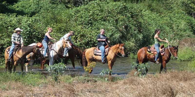 A total of 39 riders participated in Saturday's Coleman Ranch Ride in Molalla.