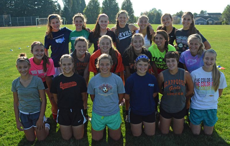 2014 Scappoose High School Girls Soccer