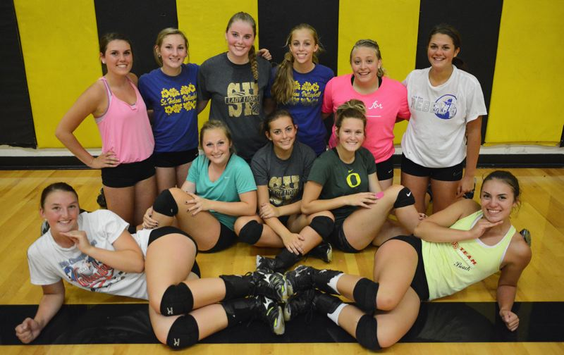 2014 St. Helens High School Volleyball