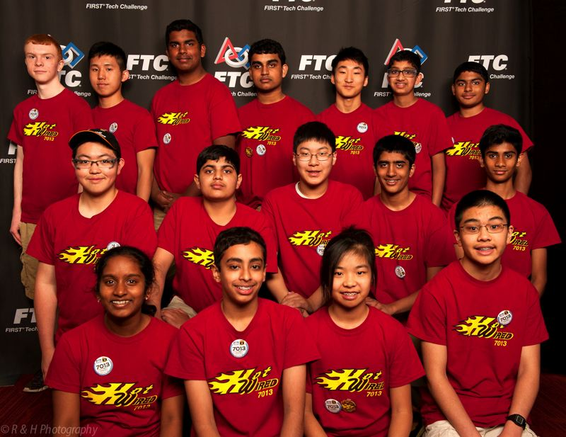 COURTESY OF RICHARD HETZLER  - Members of Westviews Hot Wired robotics team won the regional competition in Oakland while setting a new world record. They will now go to nationals in St. Louis.