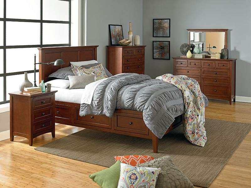 WHITTIER WOOD - The McKenzie Collection presents an atmosphere of style and elegance.