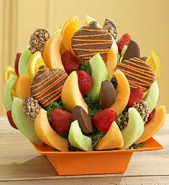 Enjoy our delicious Fall Harvest Fruit Basket
