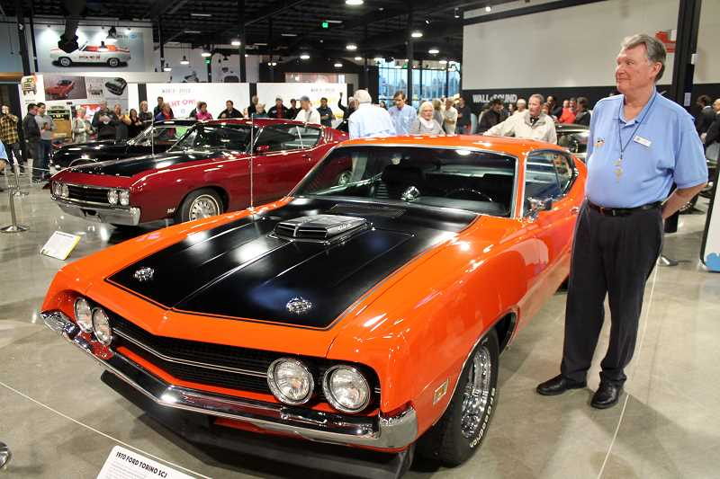 World of Speed honors  American muscle cars