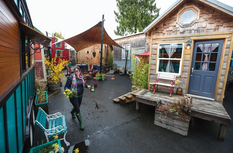 PICTURE TINY HOUSES IN BIG NUMBERS