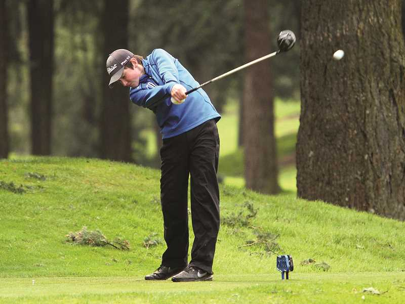 Boys golf: Sam Krauss takes the lead in the Three Rivers League standings
